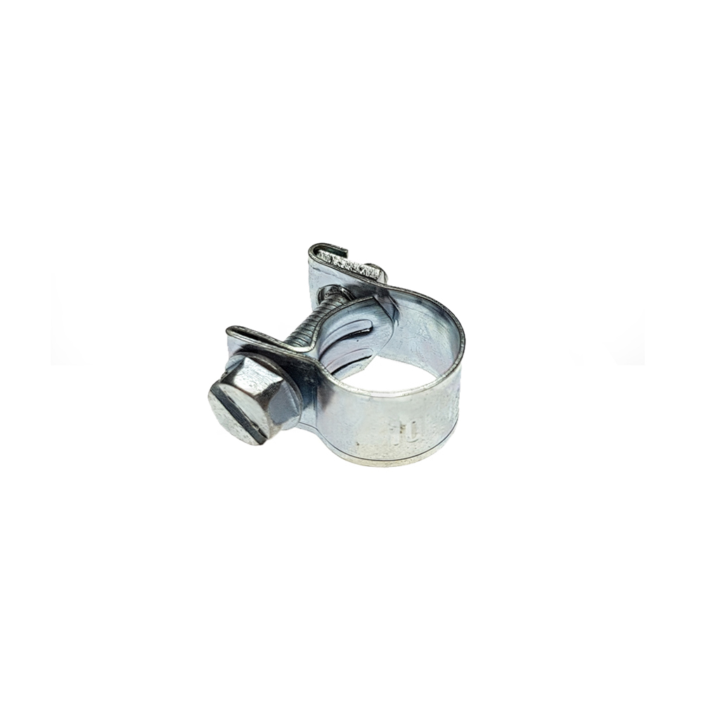 Fuel hose clamp steel 8/12 mm