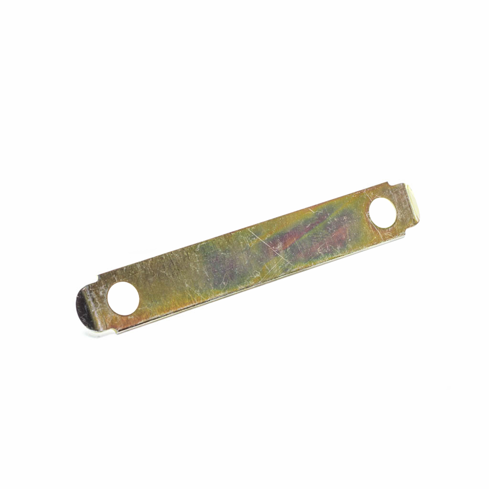 Axle tube bolt lock tab, front and rear