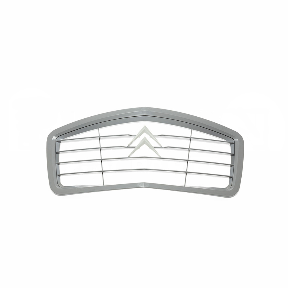 Grille 2CV plastic, grey with grey edge, 1974->