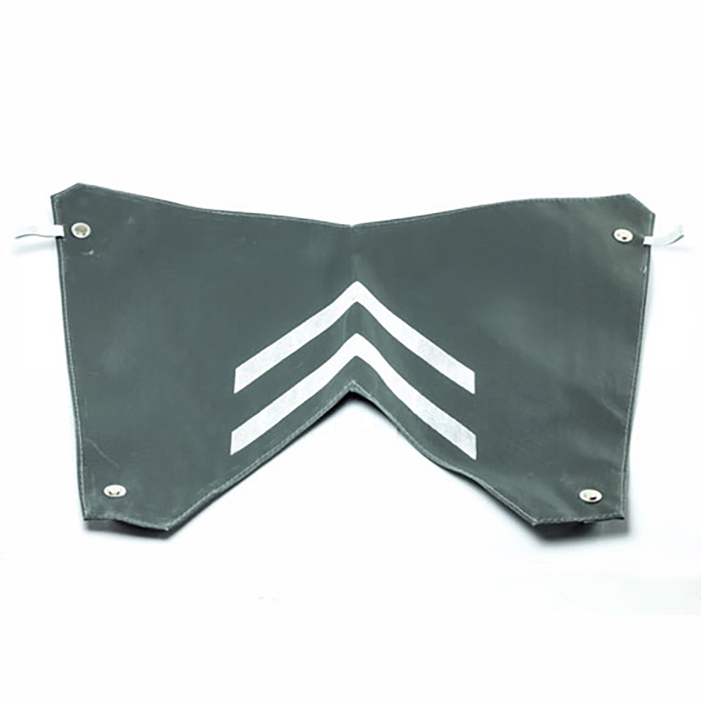 Winter blind grille for ripple bonnet 2CV, 1949->1960