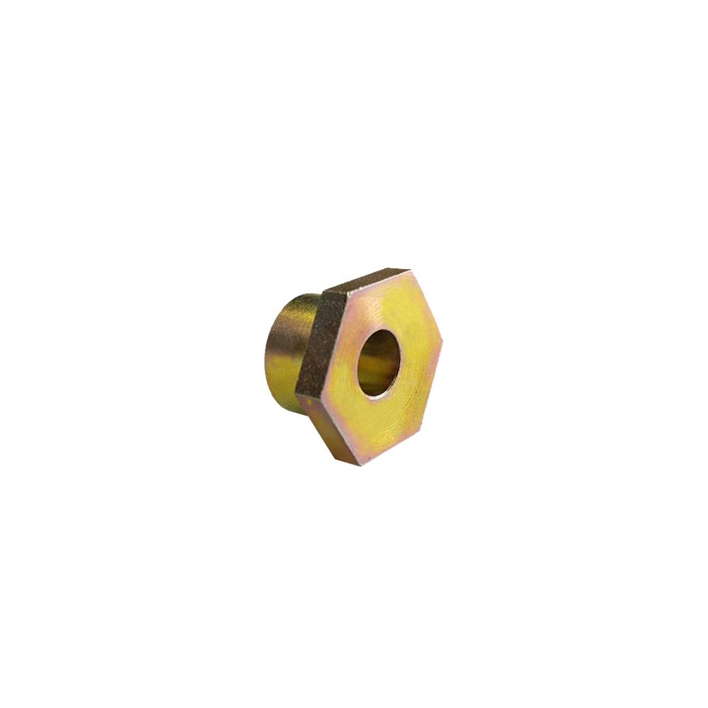 Eccentric hand brake lever nut