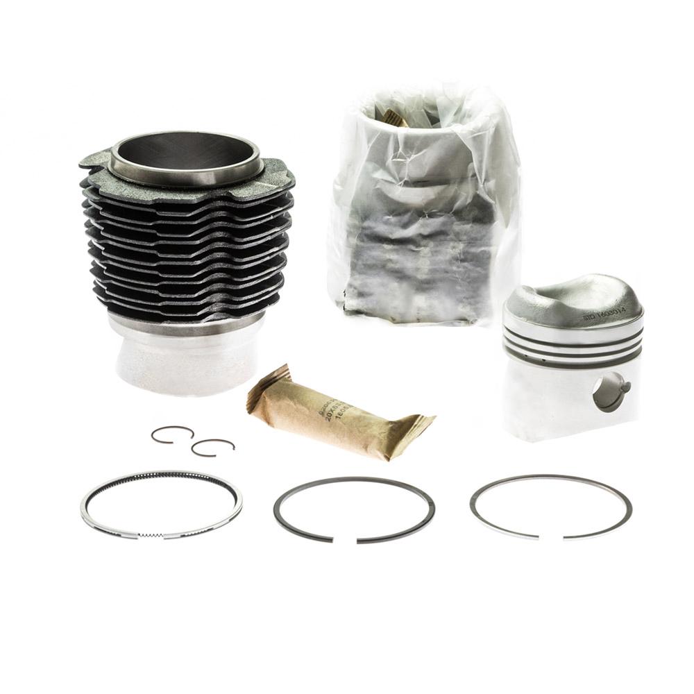 Barrel and piston set for 2CV6 602cc  8,5:1 Ø74mm