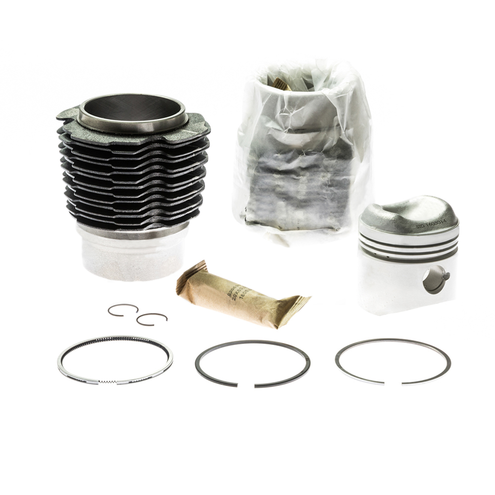 Piston and cylinder kit for 2CV6 602cc 9:1 M28 Ø74mm
