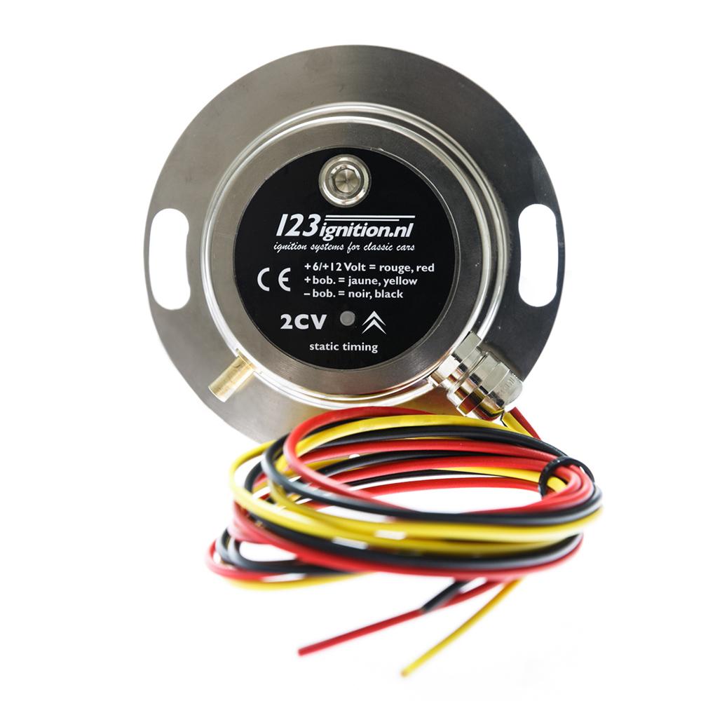 Electronic Ignition 123 EVO 12V, 16 advance curves