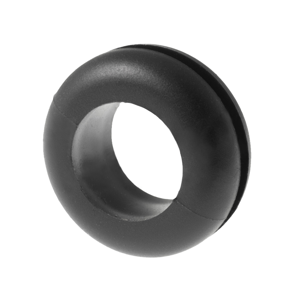 Rubber bushing cable lead-through / ignition