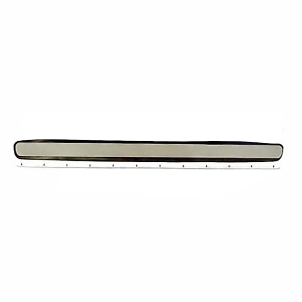 Ventilatieklep RVS + rubber +sierlijst RVS 2CV