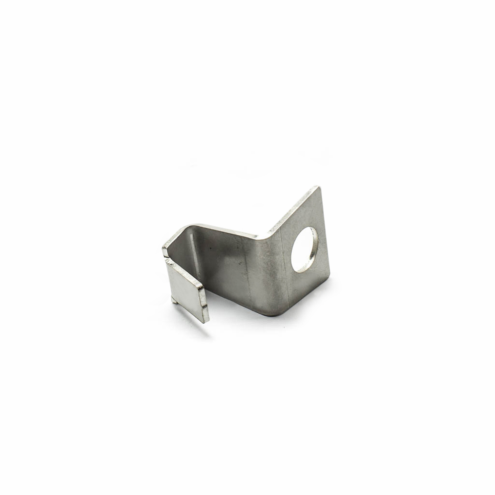 Mounting bracket wing valence panel 2CV stainless steel