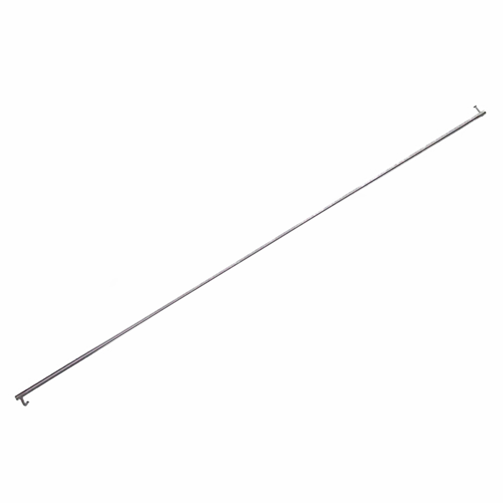 Bonnet support 2CV and Burton stainless steel