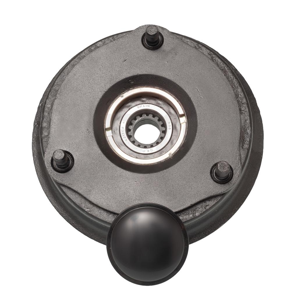 Rear brake drum refurbished incl SKF wheel bearing