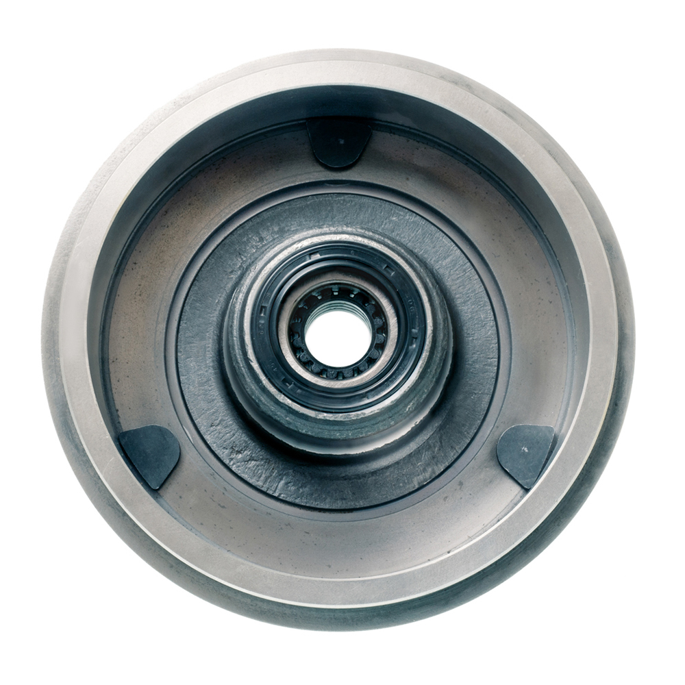 Rear brake drum new Ø180mm, with SKF bearing