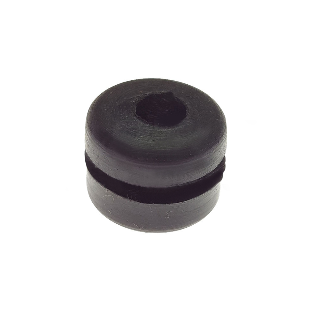 Rubber sleeve for gear linkage and bonnet support