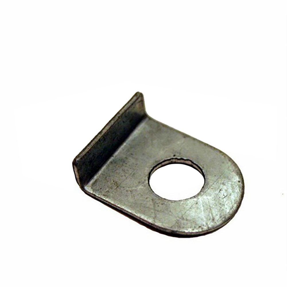 Lock tab washer steering rack