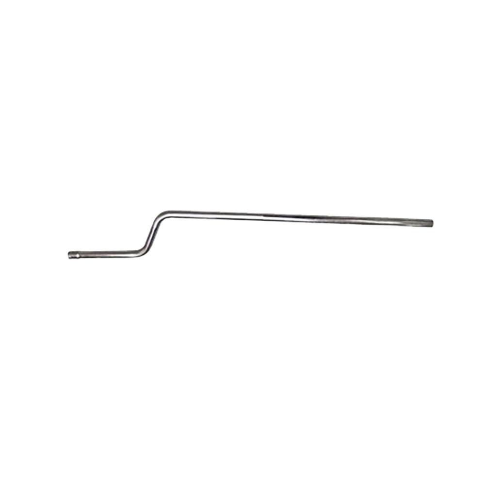 Tailpipe 2CV stainless steel, RHD, English model
