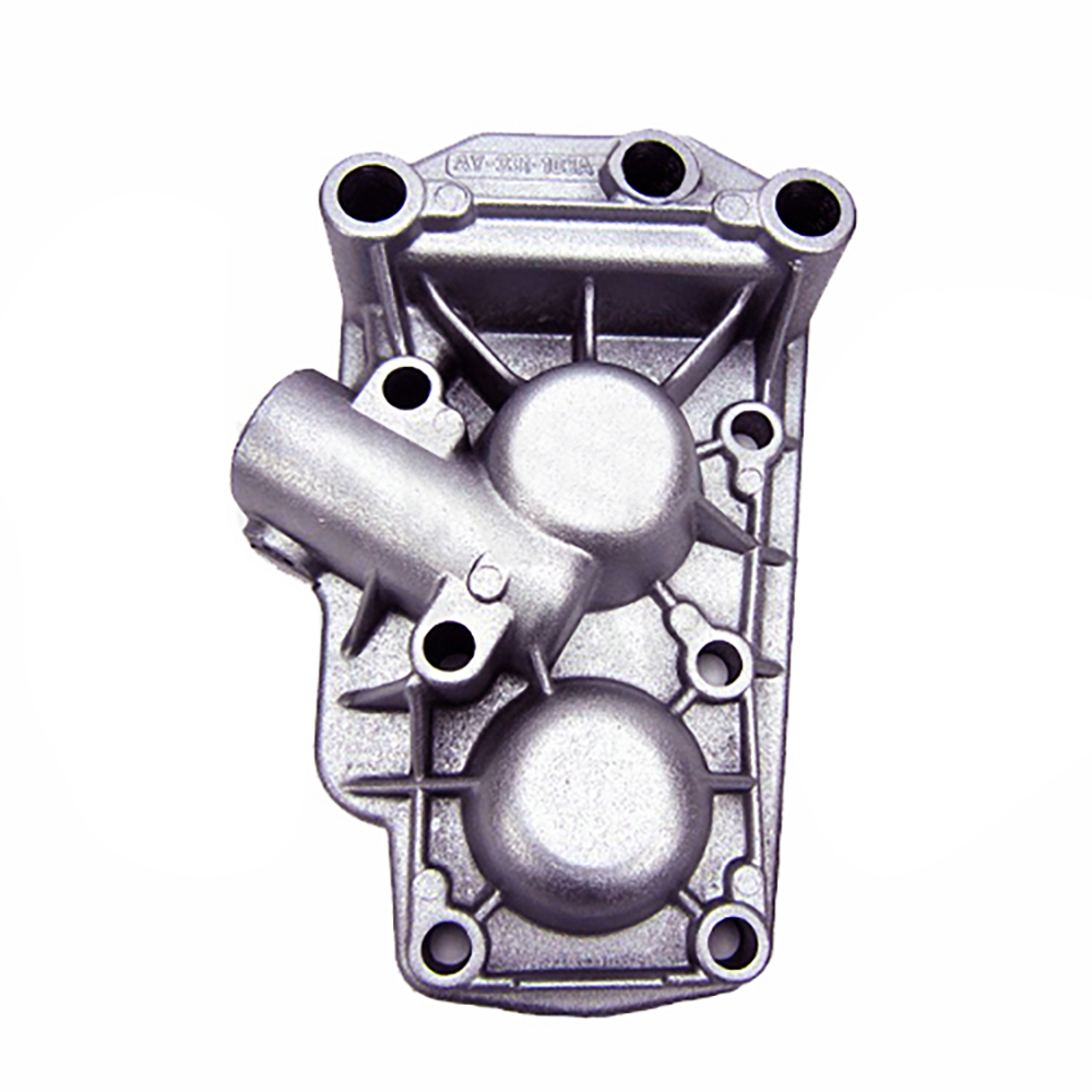 Transmission cover with thread for reversing light