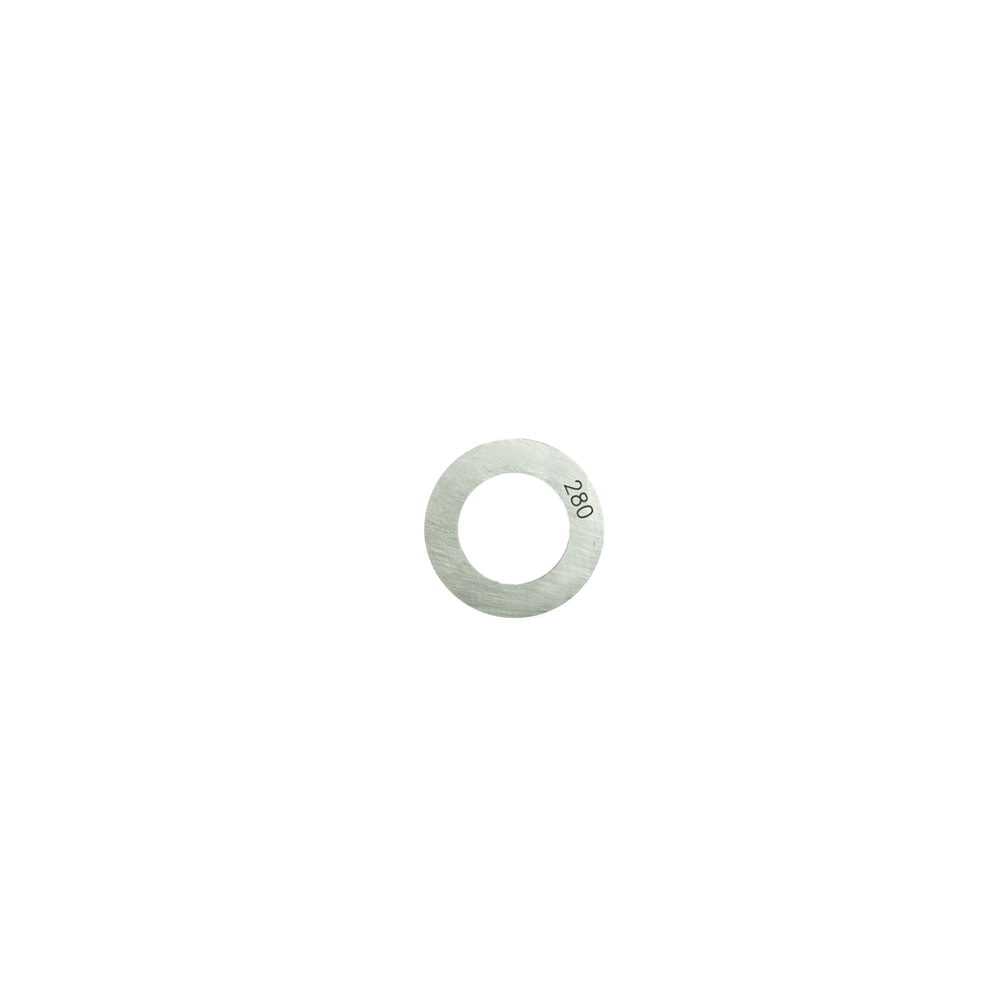 Shim pinion height 2,80mm