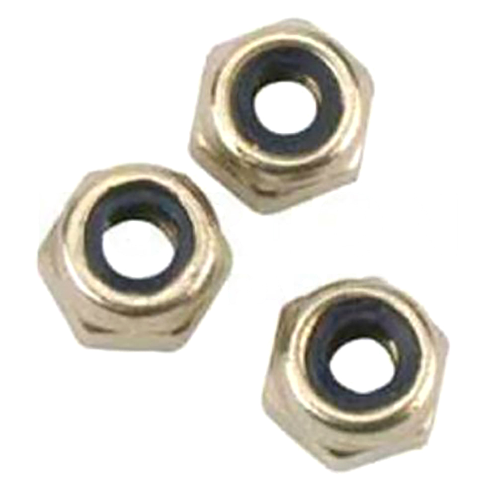 Track rod nut M10 Nylock extra high