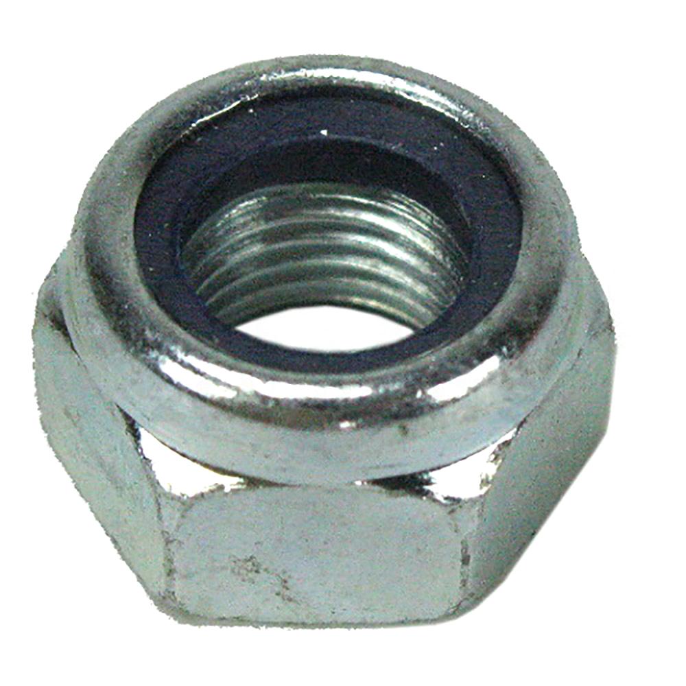 Nut M12x1.25 Nylock, shock absorber