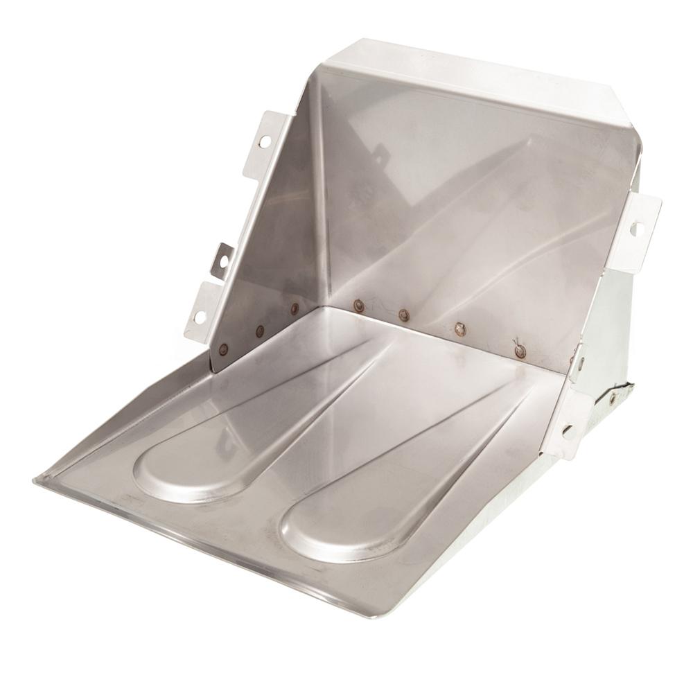 Battery box 2CV stainless steel