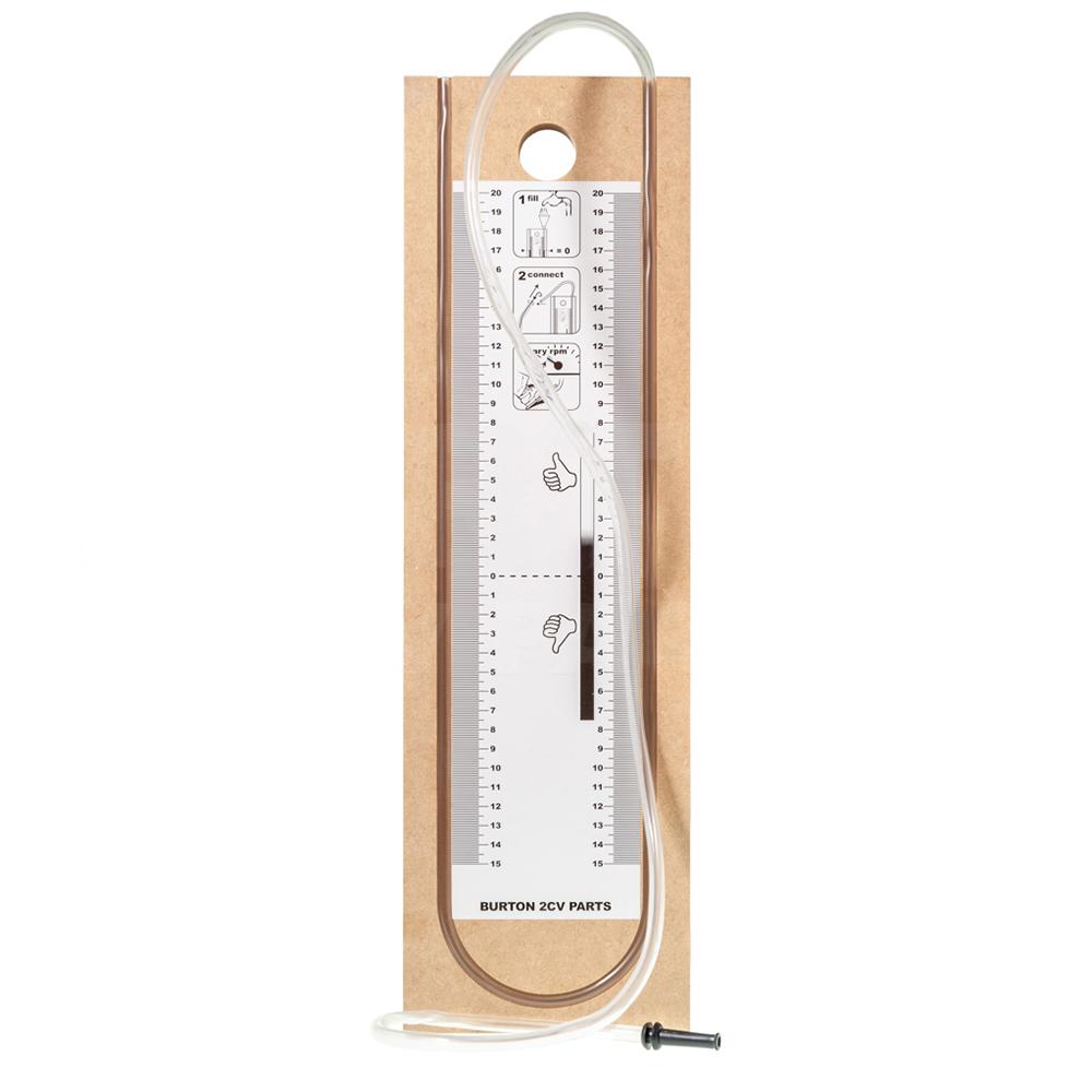 Oil filler neck pressure gauge