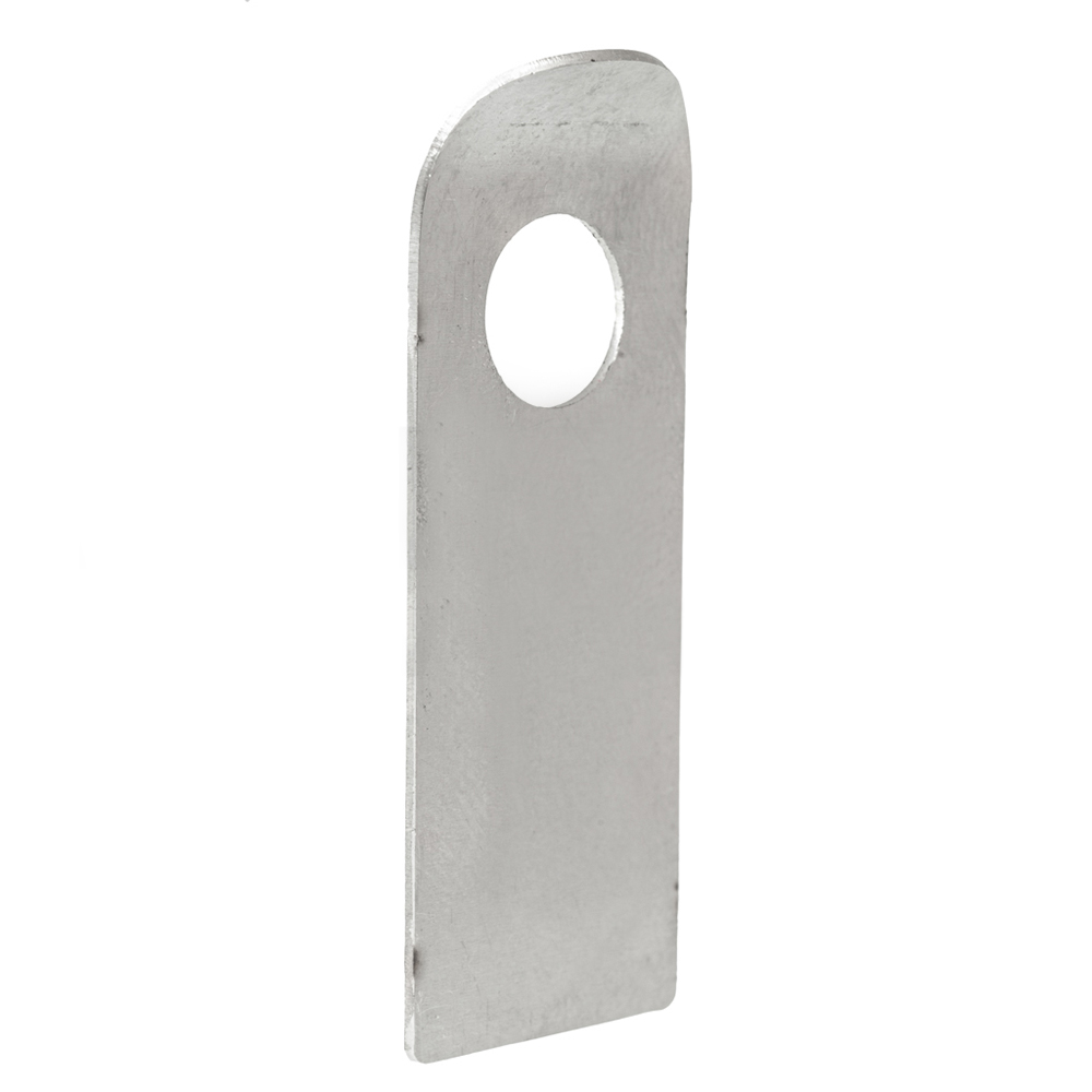 Tab plate for engine mount bolt stainless
