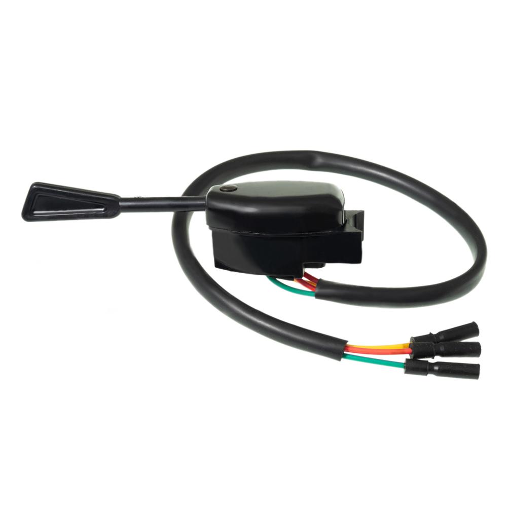 Knipperlichtschakelaar zwart 2CV