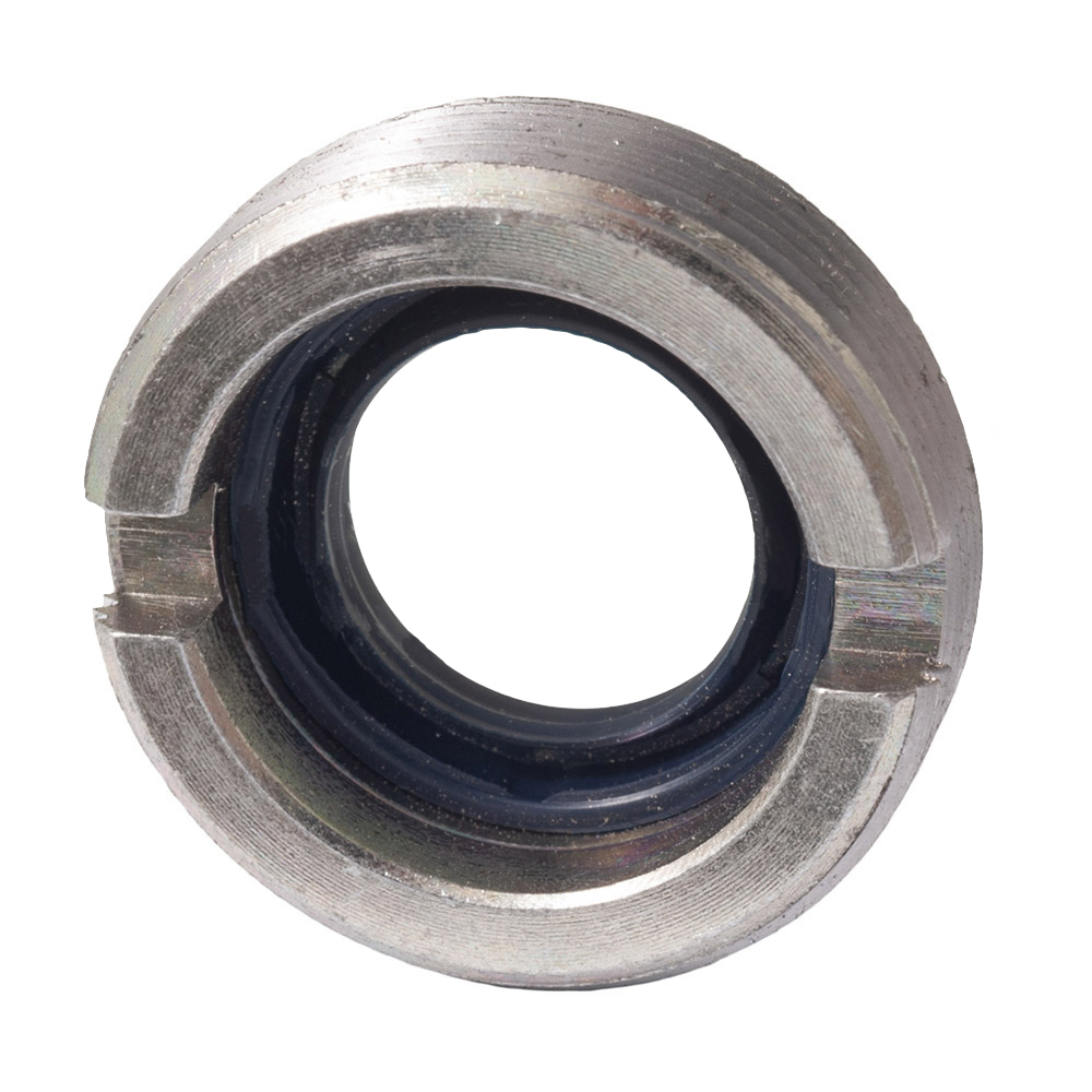 Pinion retaining nut with seal, 1971->
