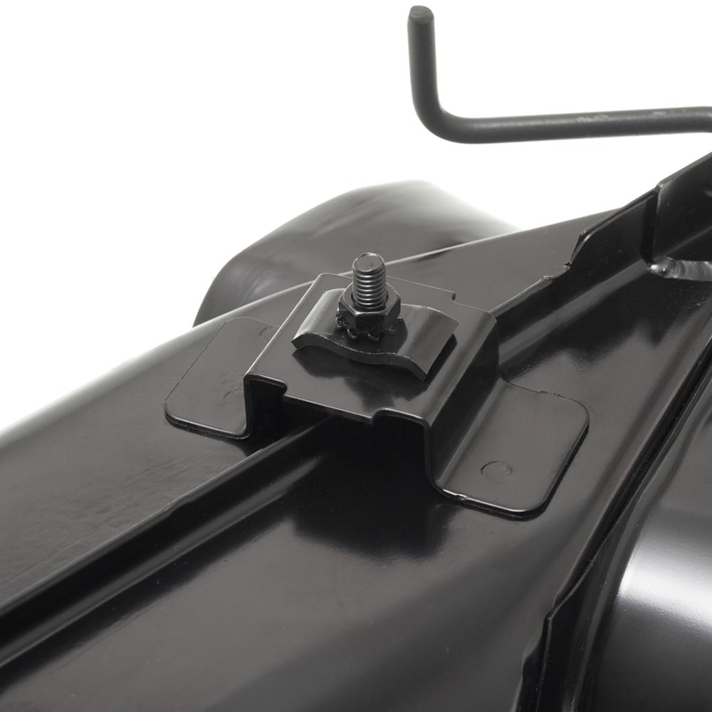 Heat exchanger set powder coated black
