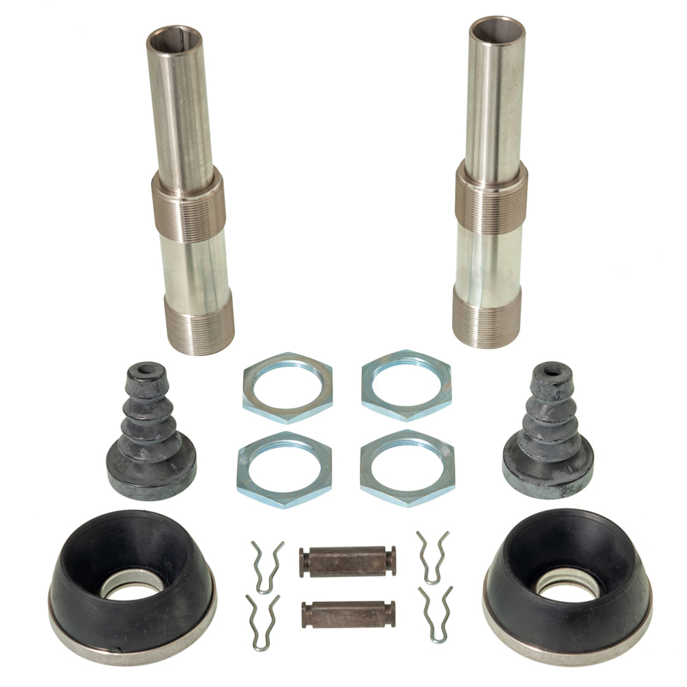 Suspension cylinder fitting kit 2CV stainless steel