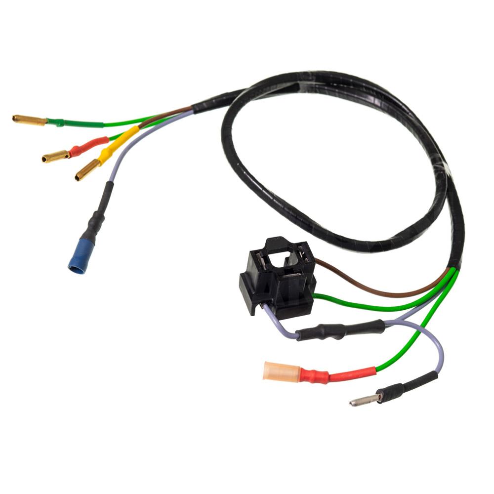 Stekker en bedrading koplamp H4/Duplo
