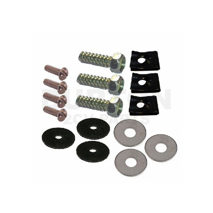 rubber gaskets /& washers bolt on M5 bolts Boot luggage rack fitting kit